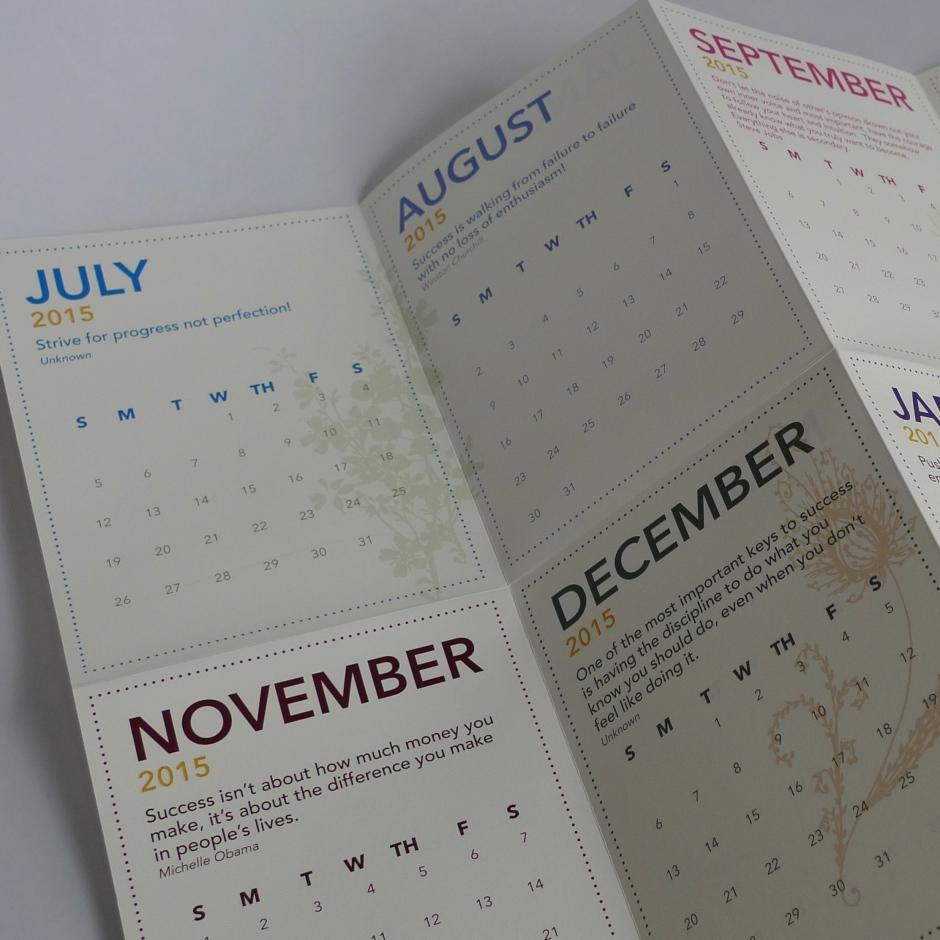 IS-Care Calendar